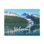College Fjord I Scenic Alaska Cruising Doormat