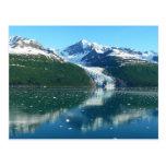 College Fjord I Scenic Alaska Photography Postcard