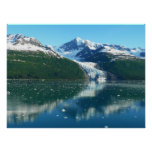 College Fjord I Scenic Alaska Photography Poster
