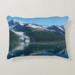 College Fjord II Beautiful Alaska Photography Accent Pillow