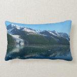 College Fjord II Beautiful Alaska Photography Lumbar Pillow