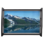 College Fjord II Beautiful Alaska Photography Serving Tray
