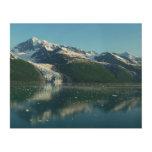 College Fjord II Beautiful Alaska Photography Wood Print