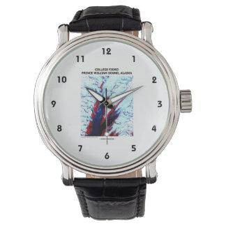 College Fjord Prince William Sound Alaska Wristwatches