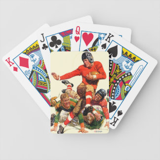 College Football Bicycle Playing Cards