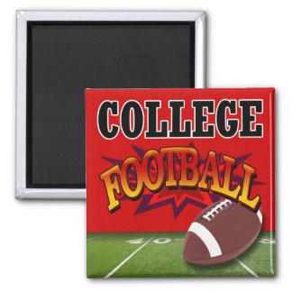 """College Football"" by Cheryl Daniels Fridge Magnet"