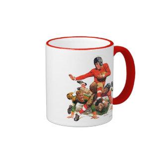 College Football Ringer Coffee Mug