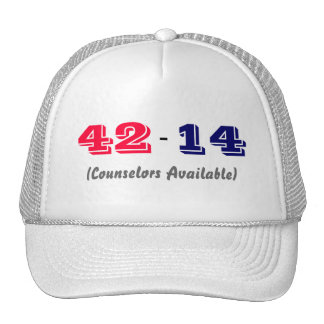 College Football Scores Hat (Alabama Teams)
