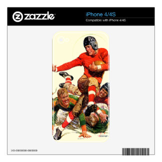 College Football Skin For iPhone 4S