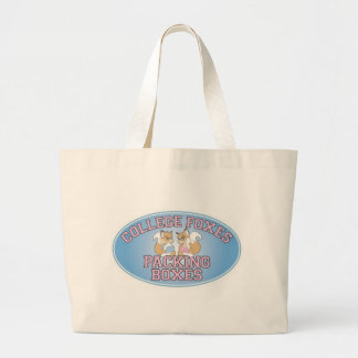 College Foxes Logo Jumbo Tote Bag