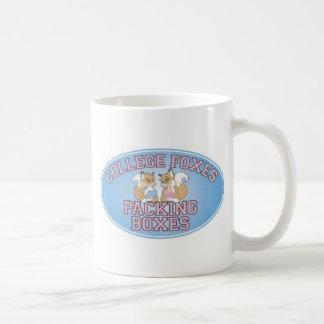 College Foxes Logo Classic White Coffee Mug