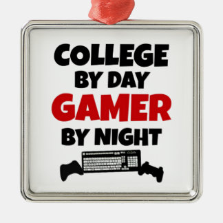 College Gamer Metal Ornament