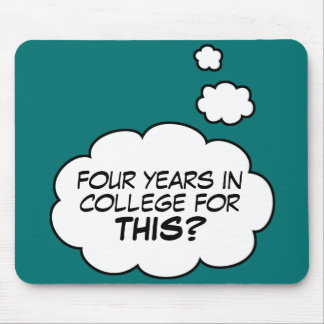 College Graduate mousepad