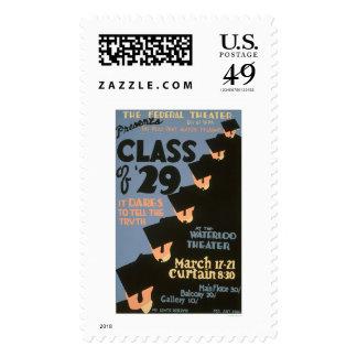 College Graduates 1937 WPA Stamp
