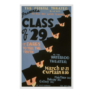 College Graduates 1937 WPA Posters