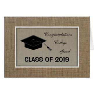 College Graduation Congratulations Card