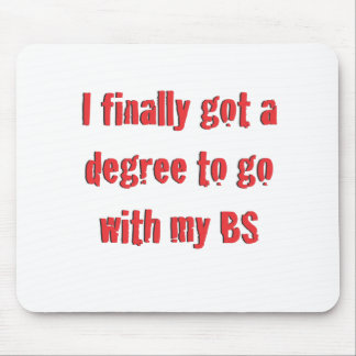 College Graduation Mouse Pad