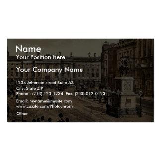 College Green. Dublin. Co. Dublin, Ireland classic Business Card Templates