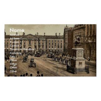 College Green. Dublin. Co. Dublin, Ireland classic Business Cards