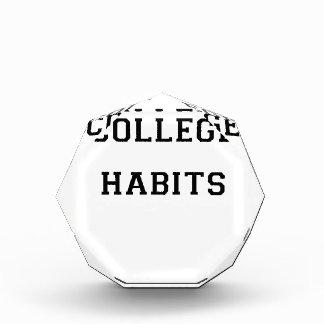 College Habits Award