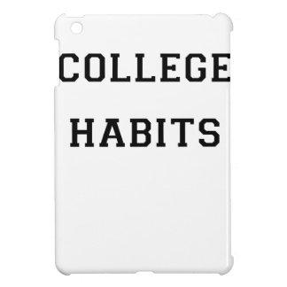 College Habits Case For The iPad Mini