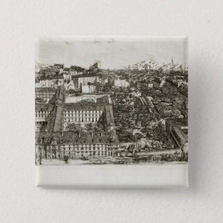 College Henri IV and the Lycee Napoleon, 1864 Pinback Button
