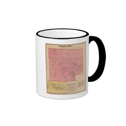 College Hill, Ohio Ringer Coffee Mug