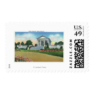 College Hill Park View of Dudley Memorial Postage