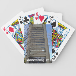 College Hill, Providence, RI Bicycle Playing Cards