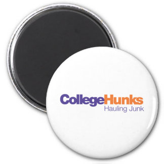 College Hunks Hauling Junk 2 Inch Round Magnet