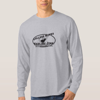 College Hunks Hauling Junk Black and White T-Shirt