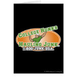 College Hunks Hauling Junk Official Logo Card