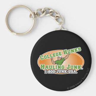 College Hunks Hauling Junk Official Logo Keychain
