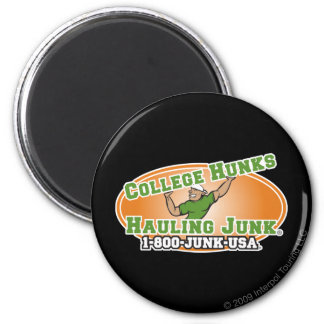 College Hunks Hauling Junk Official Logo 2 Inch Round Magnet