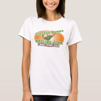 College Hunks Hauling Junk Official Logo T-Shirt