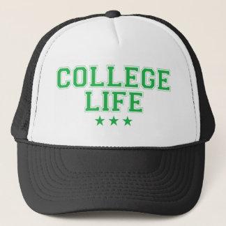 College Life - Green Trucker Hat