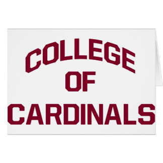 College of Cardinals Card