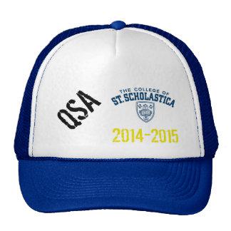 College of St. Scholastica 2015 QSA Aparrel Trucker Hat