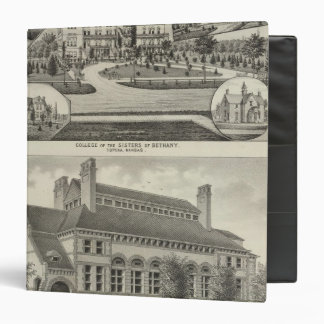 College of the Sisters of Bethany Vinyl Binders