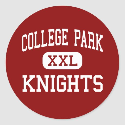 College Park - Knights - Middle - Ladson Classic Round Sticker
