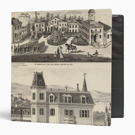 College, school, Benicia Vinyl Binder