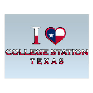 College Station, Texas Postcard