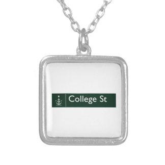College Street, Sidney, Australian Street Sign Necklaces