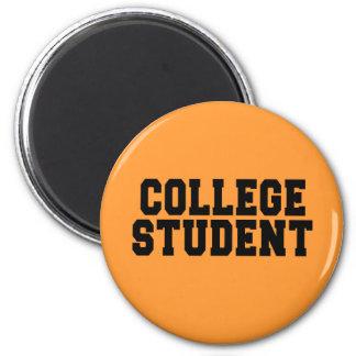 COLLEGE STUDENT 2 INCH ROUND MAGNET