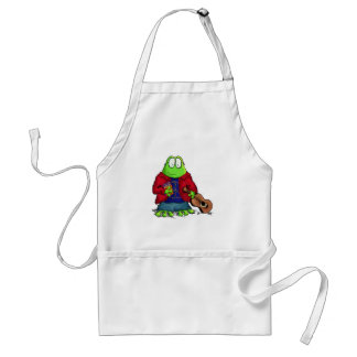 College Student Nerd Frog Aprons