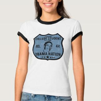College Student Obama Nation T-Shirt