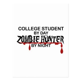 College Student Zombie Hunter Postcard
