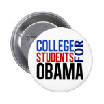 College Students for Obama Pinback Button