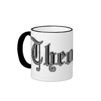 "college study mug ""theology"""
