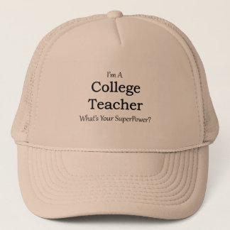 College Teacher Trucker Hat